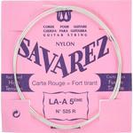 Savarez 525R A5 løs spansk guitar-streng, rød
