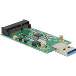 DELOCK USB 3.0 til mSATA adapter