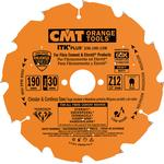 CMT DIA klinge 125x2,0x22,2 Z7 F
