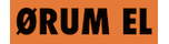 Ørum El-Forretning Logo