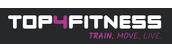 Top4Fitness.dk Logo