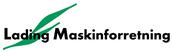 Lading Maskinforretning  Logo