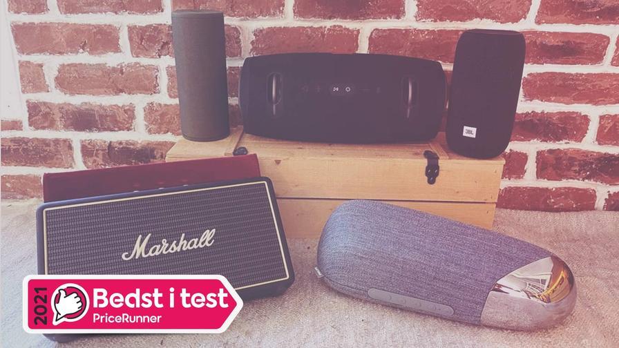 Test af 16 trådløse højttalere: Køb den bedste Bluetooth højttaler