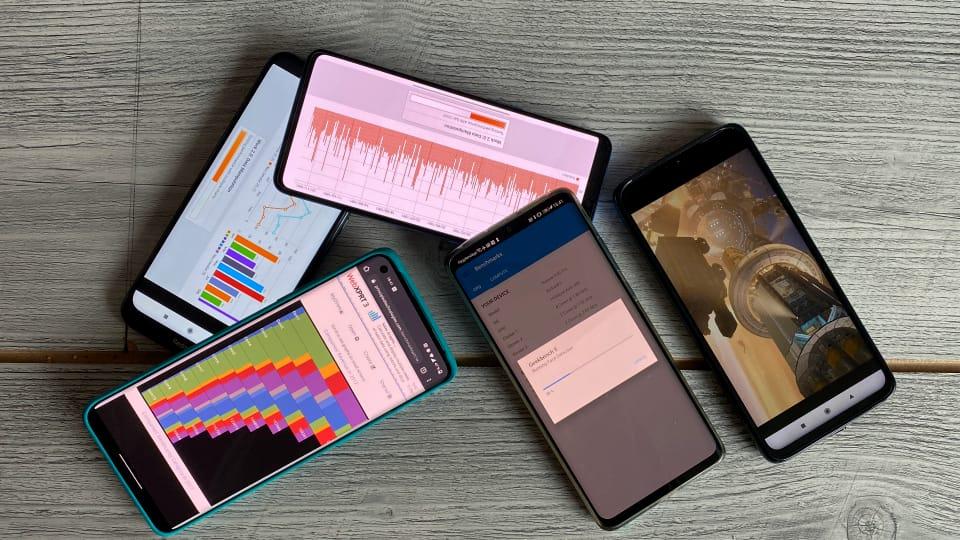 Test af smartphones