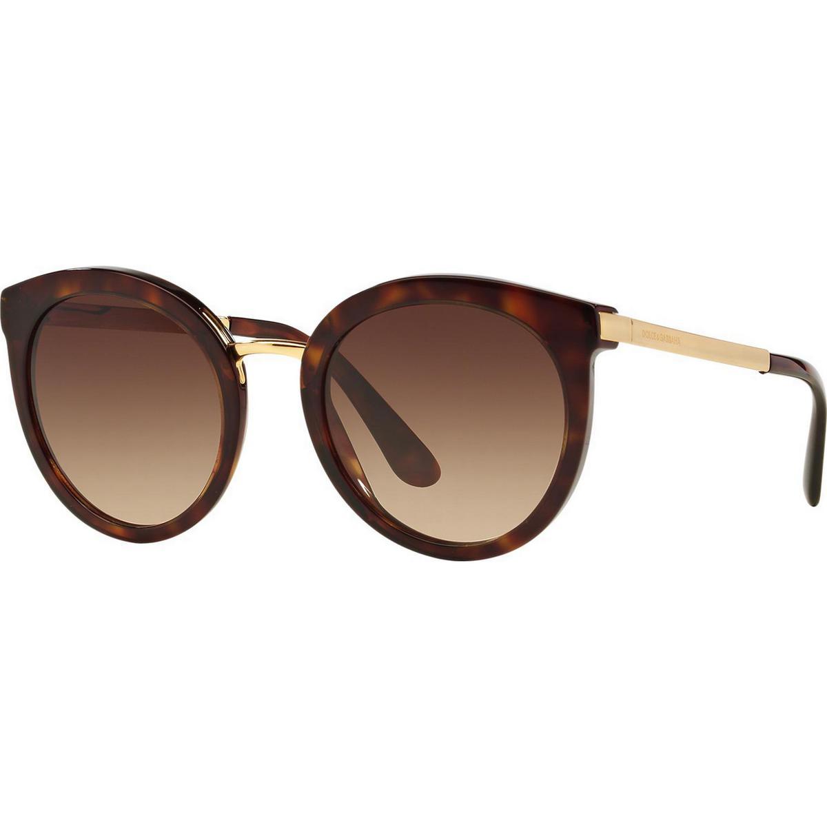 Dolce & Gabbana Solbriller (1000+ produkter) • Se billigste