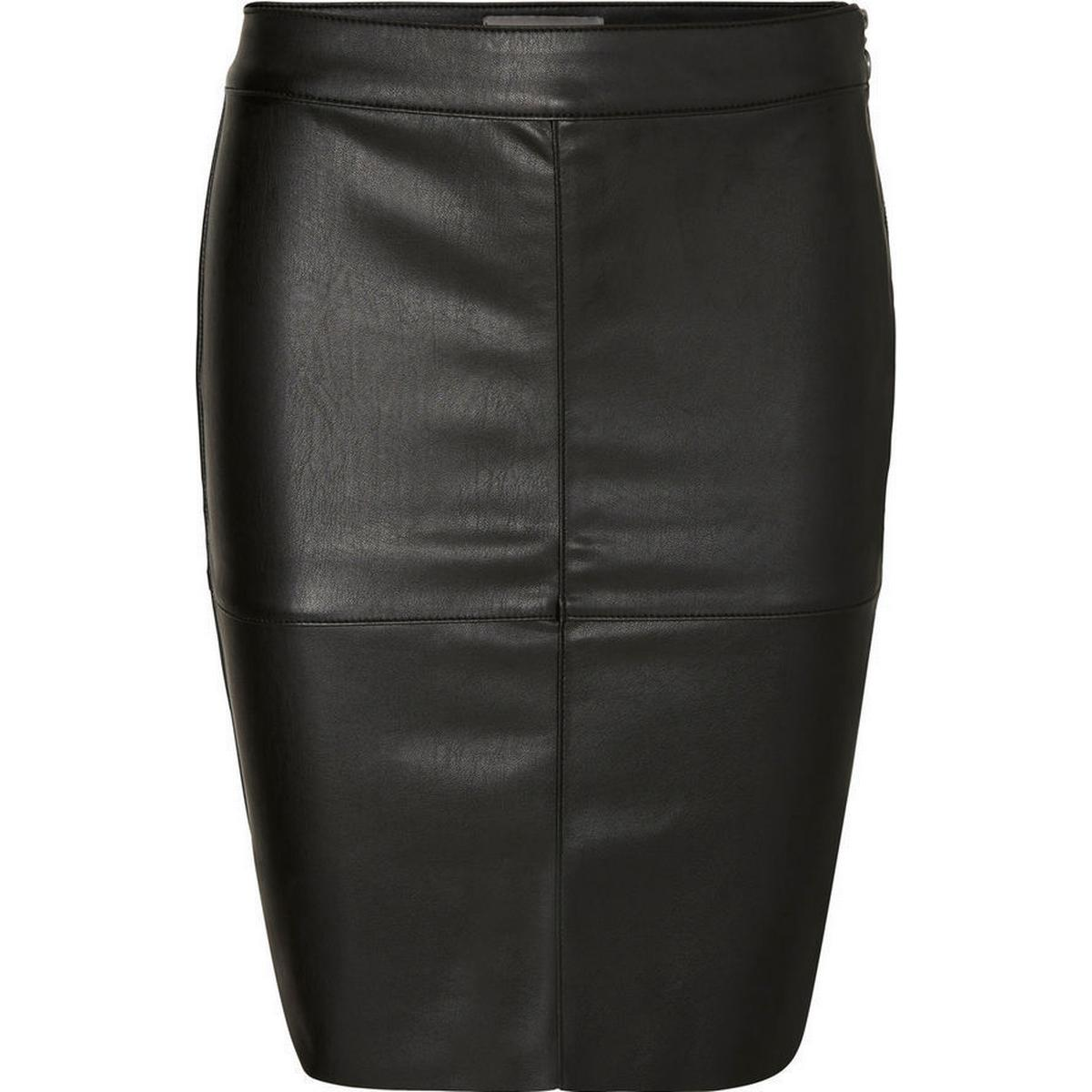 Skind nederdel Dametøj • Find den billigste pris hos