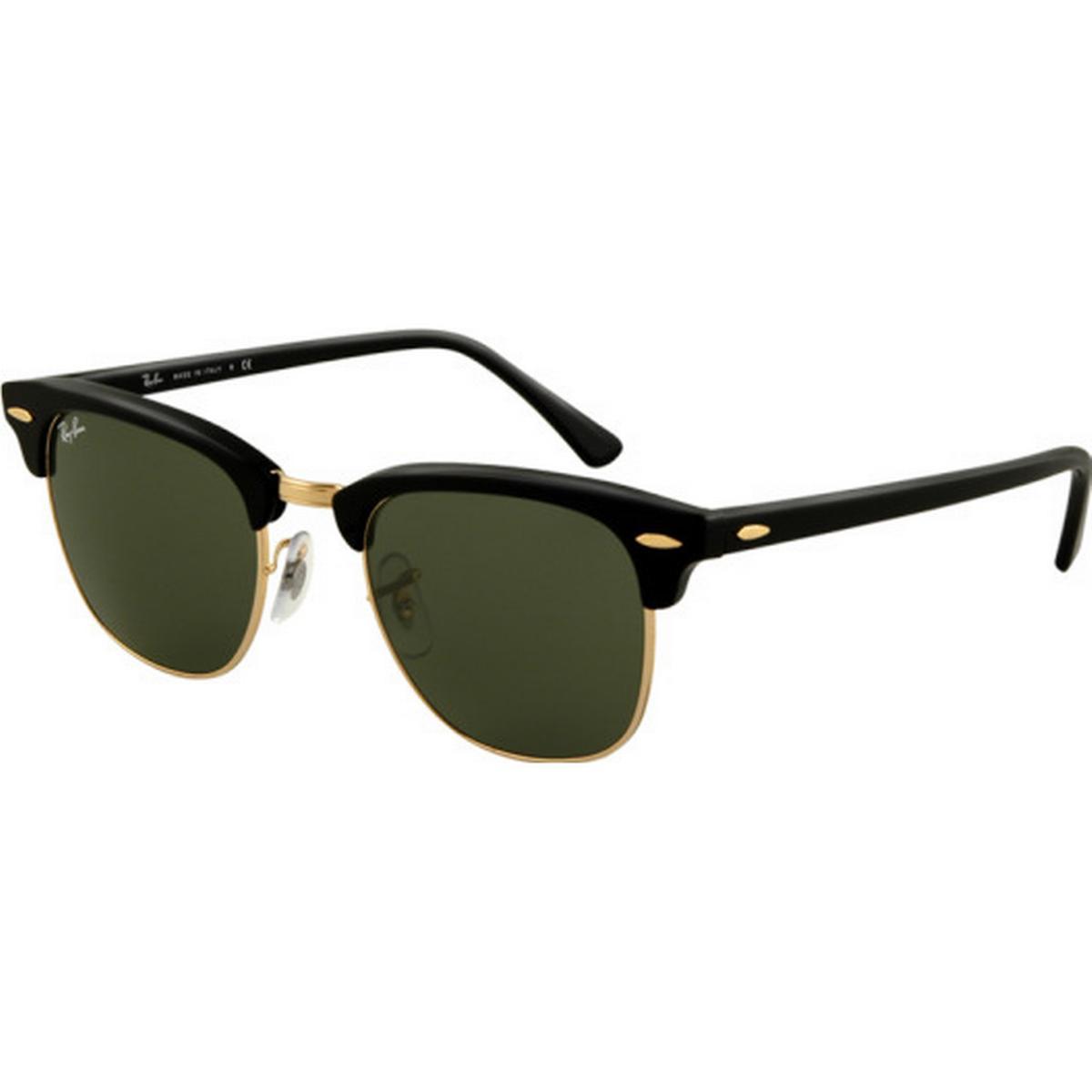 ray-ban clubround solbriller skildpadde sort