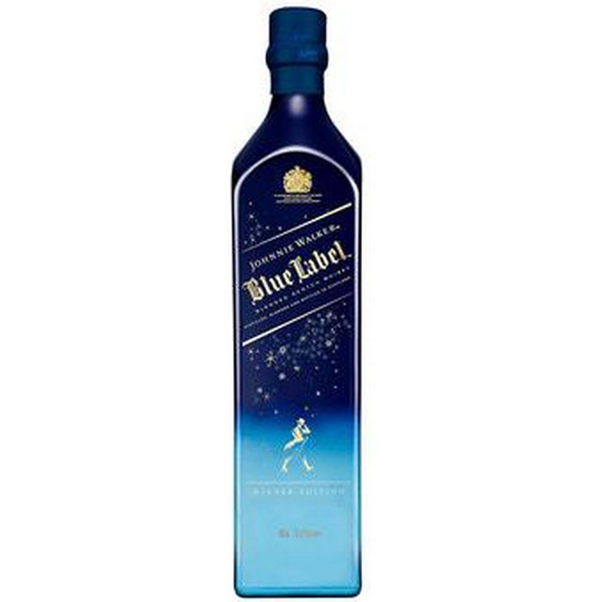It's just a graphic of Trust Johnnie Walker Blue Label Winter Wonderland