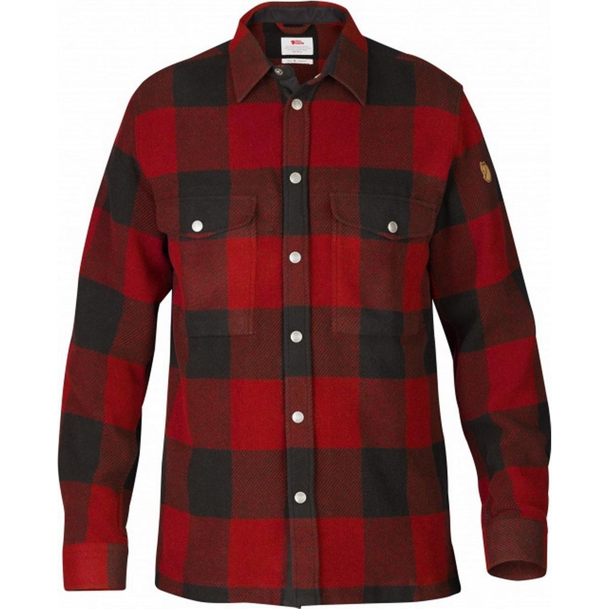 Jack Wolfskin Bow Valley Shirt Skjorte herre Tern Rød (DKK 299,50)