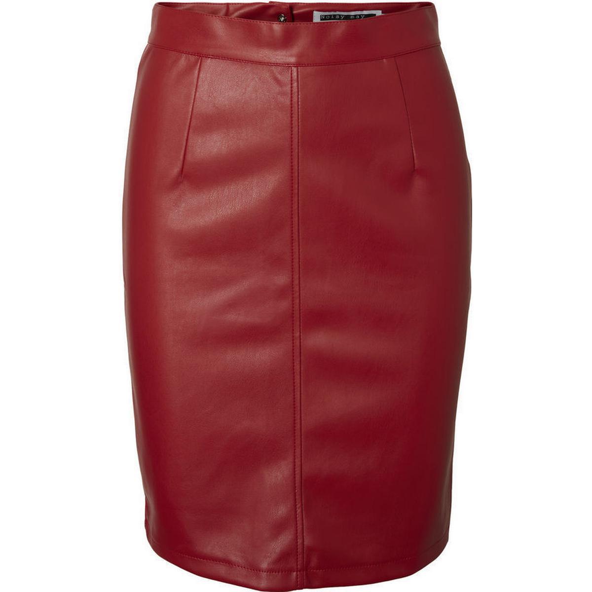 Læder nederdel Dametøj (700+ produkter) • Se billigste pris nu »