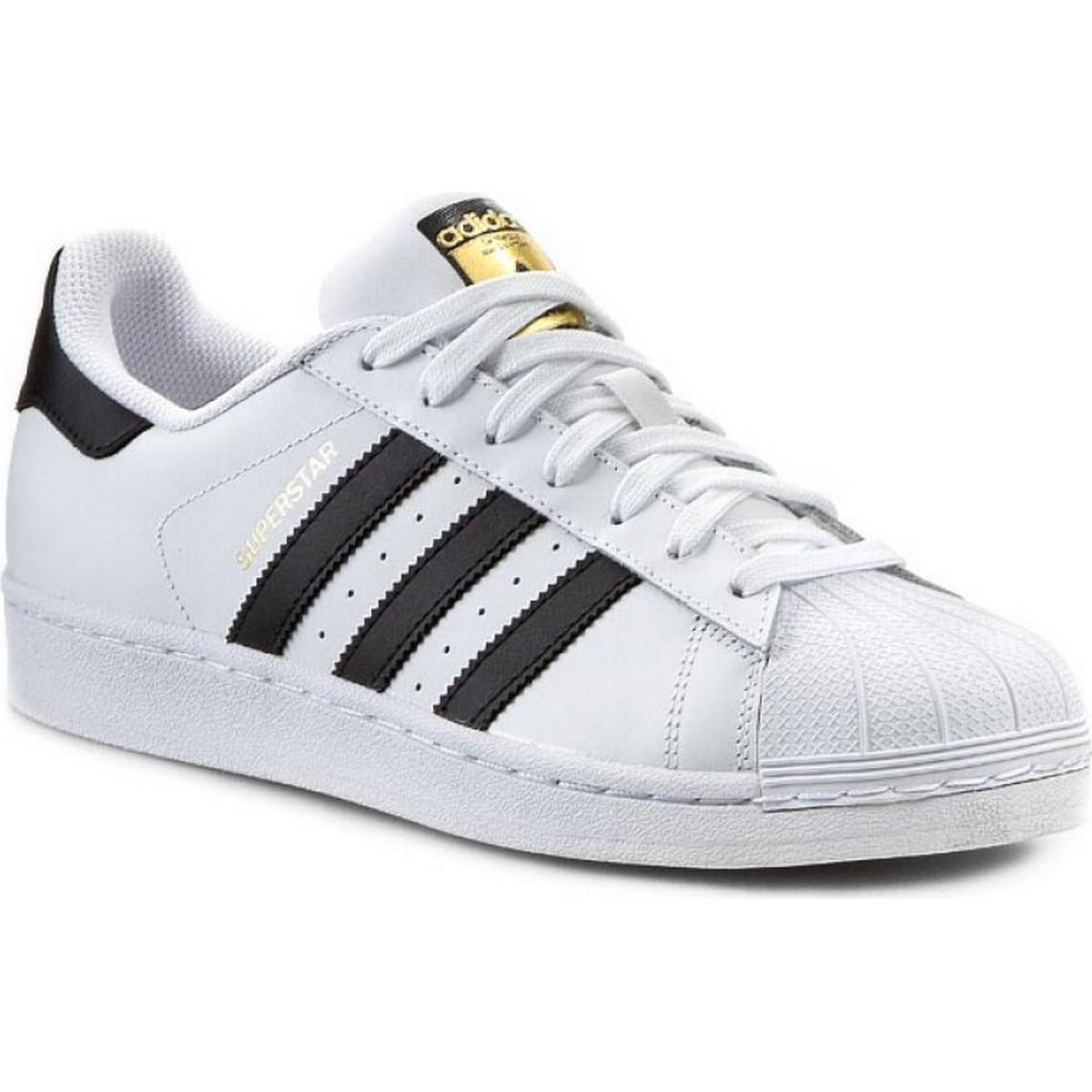 Adidas Superstar 2 White Navy Leather Mens Trainers Size 7