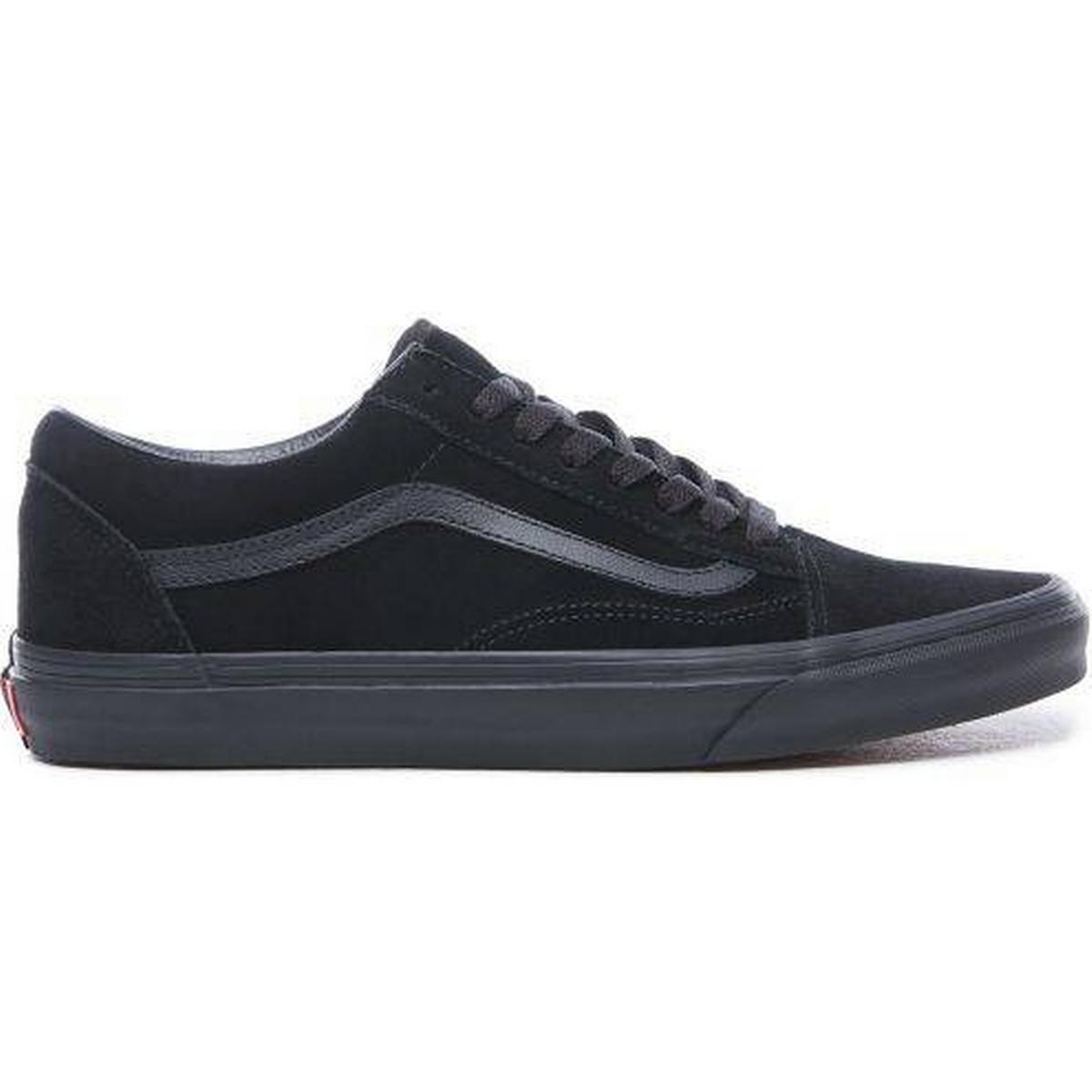 Vans old skool suede black • Find billigste pris hos