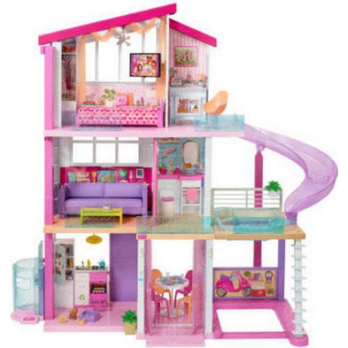 Populære Barbie - Dukkehuse - Sammenlign priser hos PriceRunner AB-54