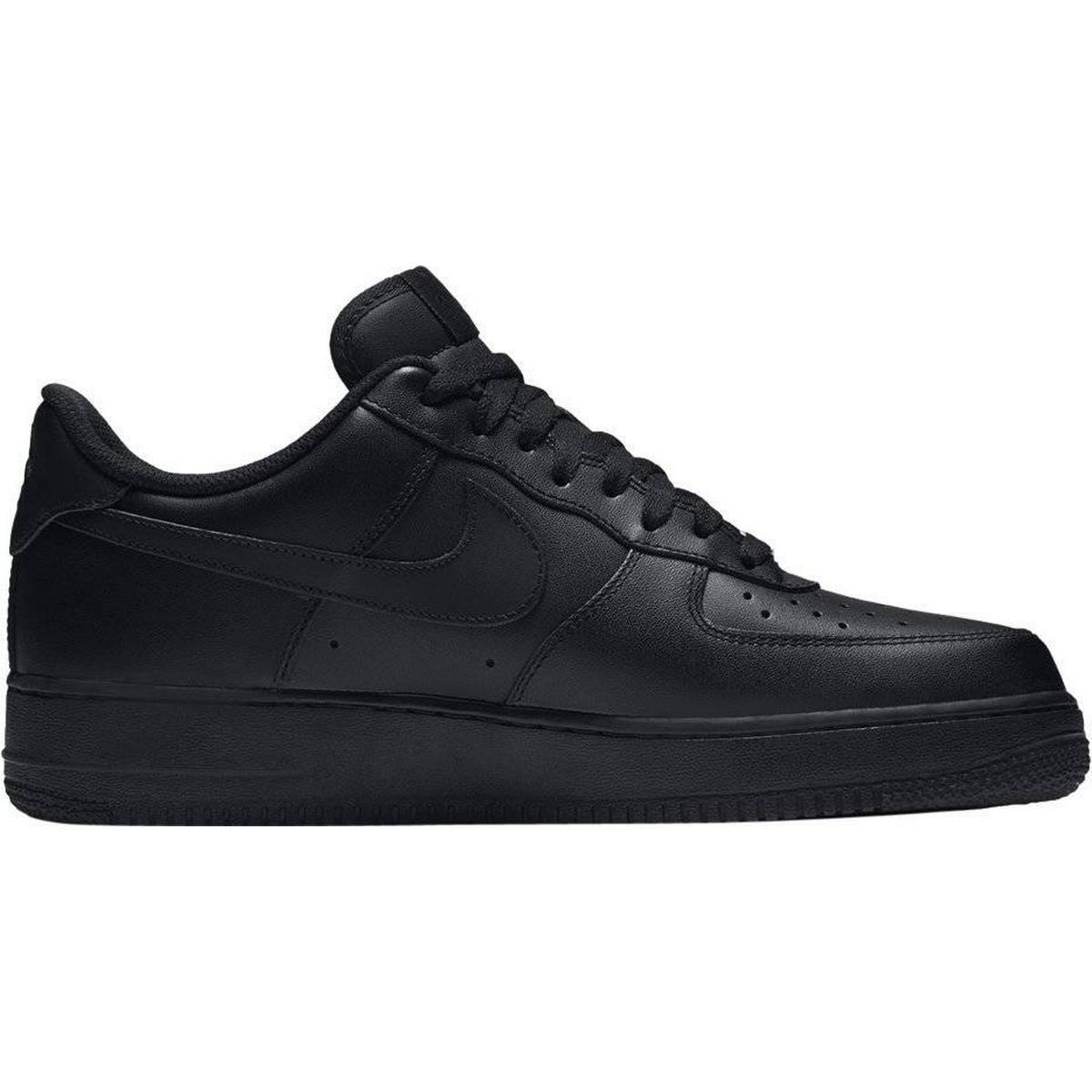Nike air force 1 black • Find den billigste pris hos