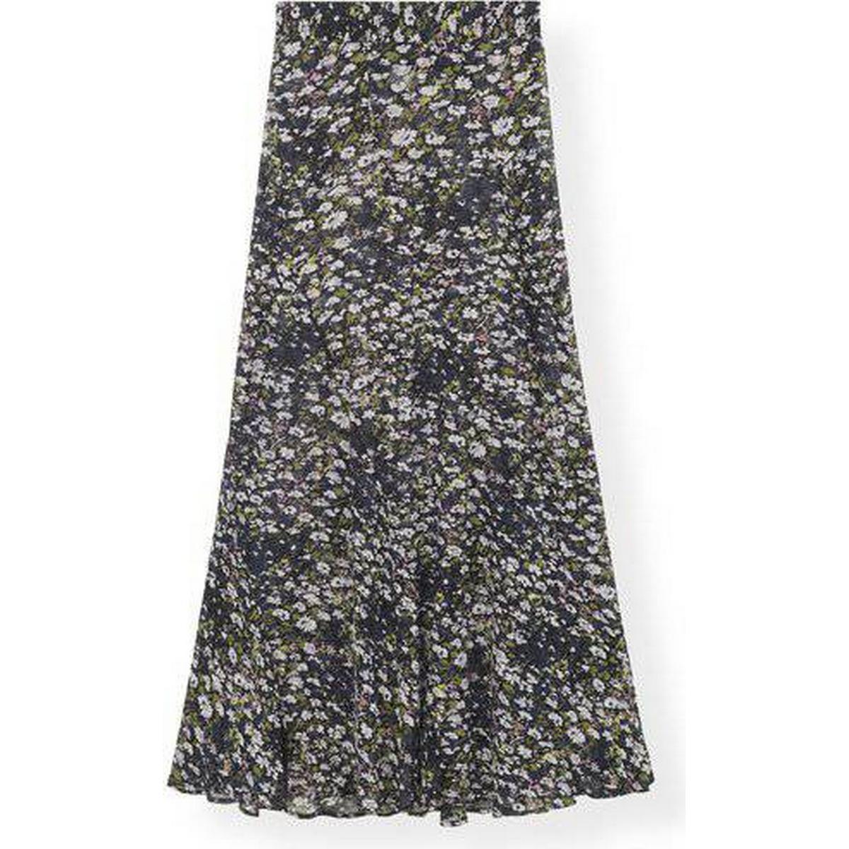 Ganni printed georgette Dametøj • Find billigste pris hos