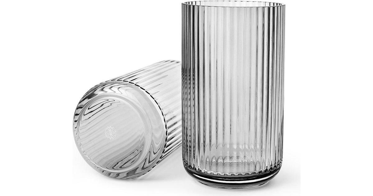 Rørig Lyngby Glas Vase 25cm - Sammenlign priser hos PriceRunner VO-03