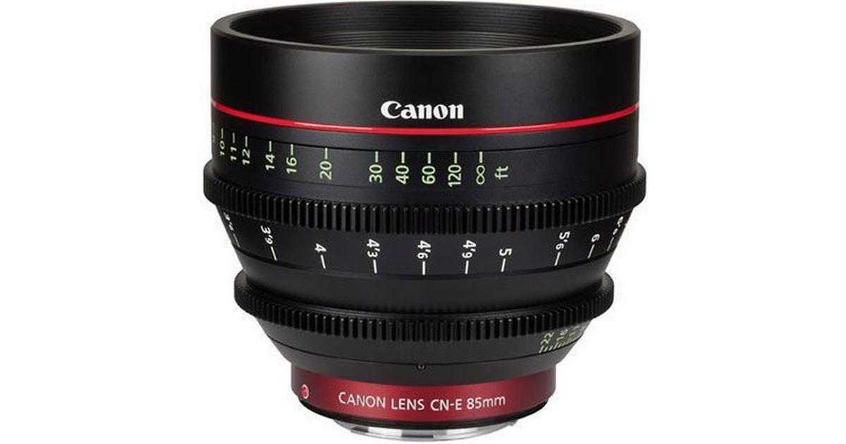 Canon Cn E 85mm T1 3 L F Se Pris 1 Butikker Hos Pricerunner