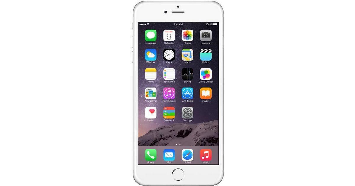 Apple Iphone 6 Plus 128gb Sammenlign Priser Anmeldelser På Pricerunner Danmark