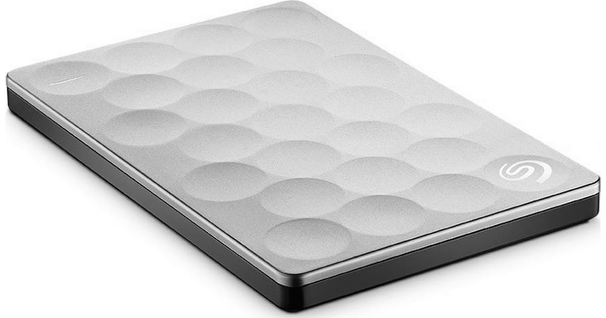 Kendte Seagate Backup Plus Ultra Slim 2TB USB 3.0 - Sammenlign priser hos AQ-36