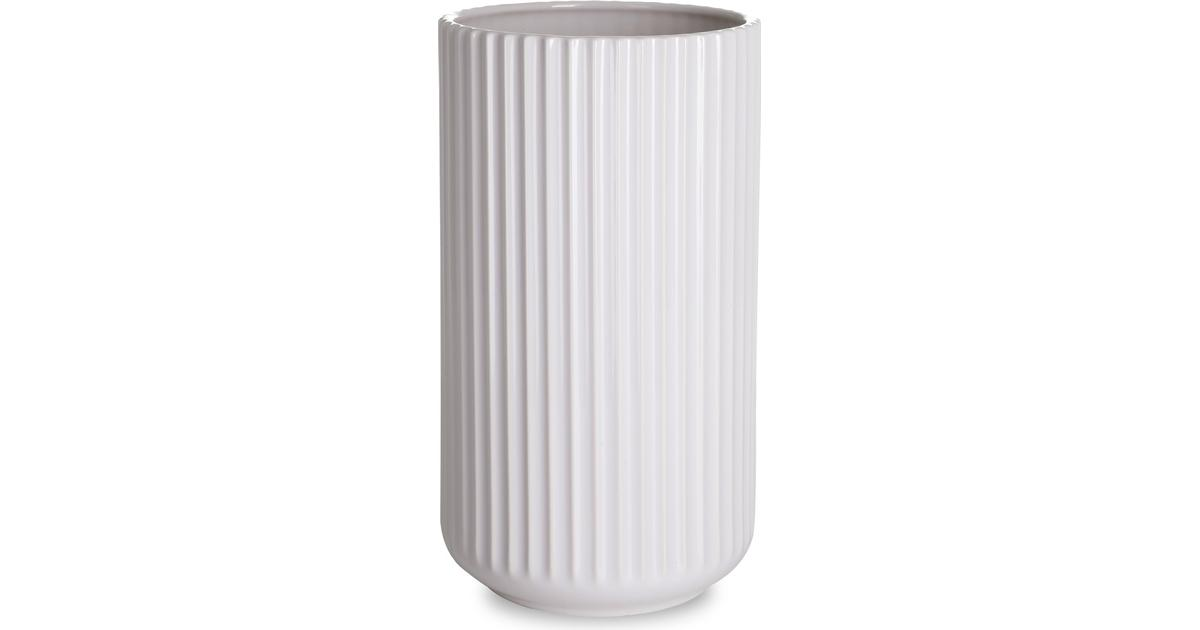 Hypermoderne Lyngby Vase 25cm • Find den billigste pris (51 butikker) hos YB-45