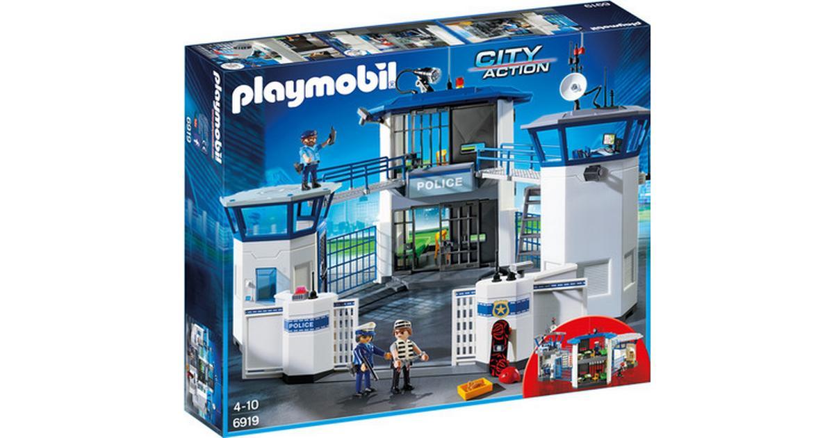 Nye Playmobil Politistation Med Fængsel 6919 • Se priser (26 butikker) » LR-51