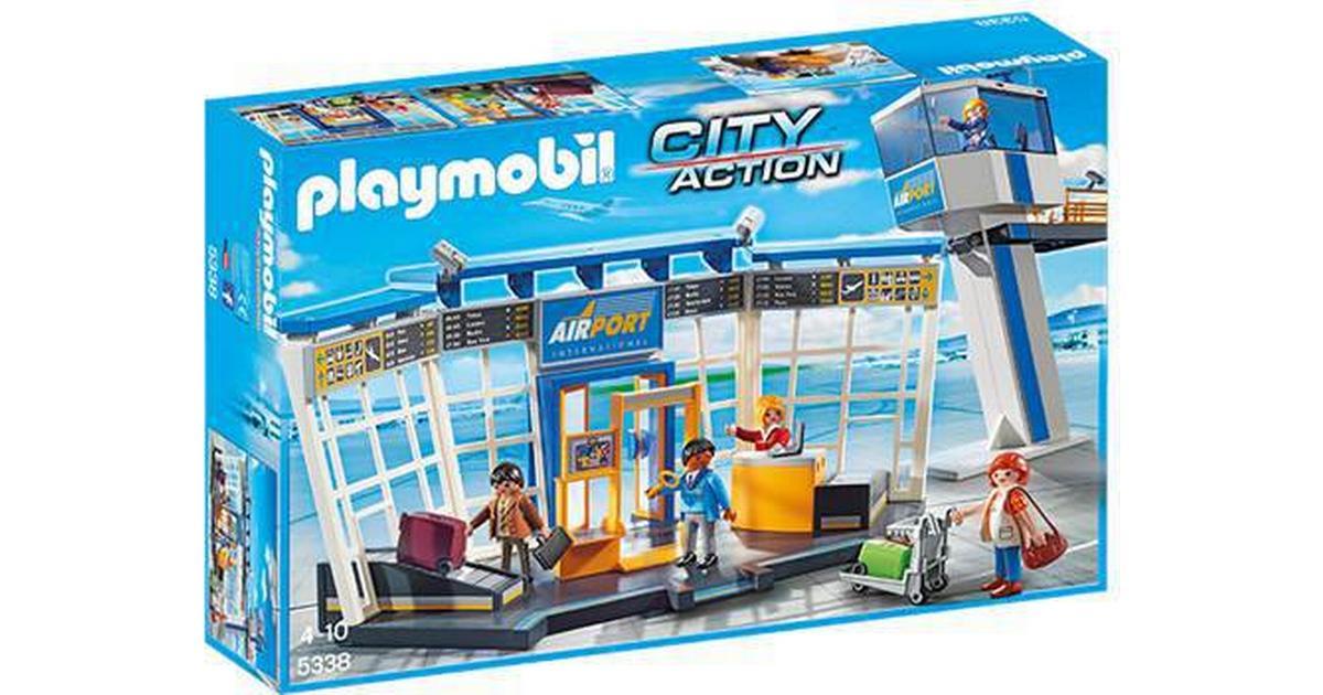 Smuk Playmobil Lufthavn Med Kontroltårn 5338 - Sammenlign priser hos HB-06