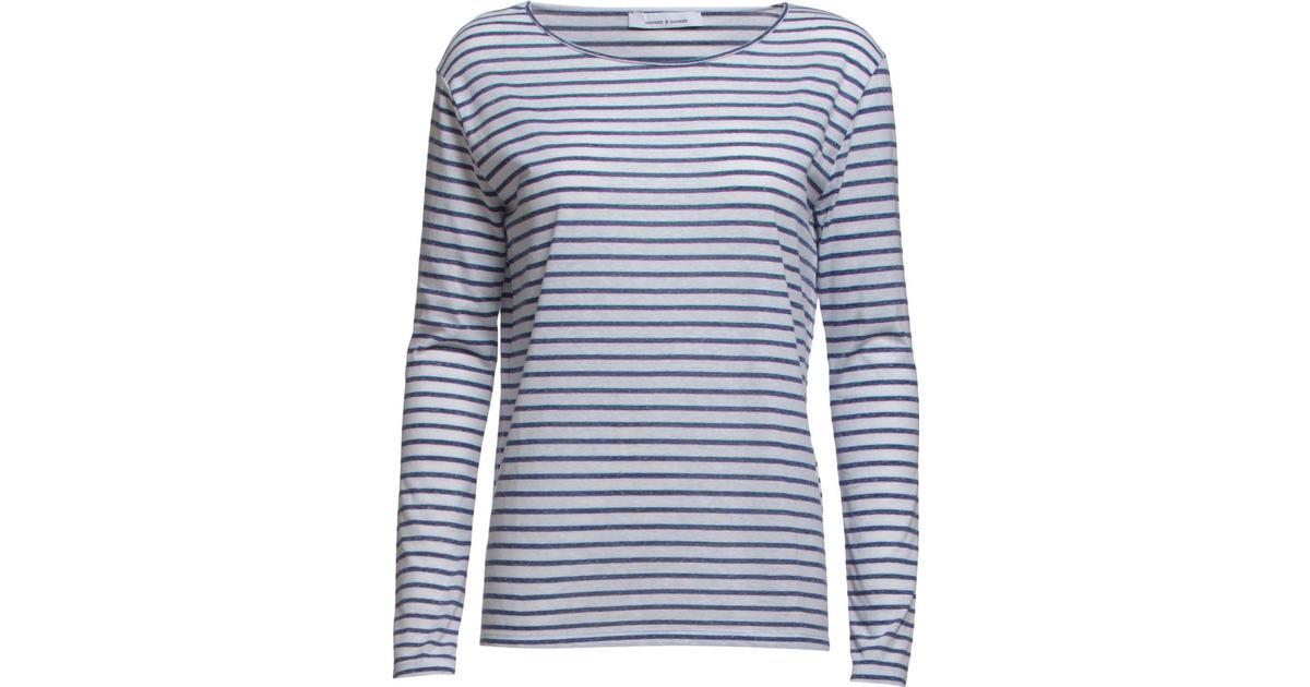Samsøe & Samsøe Nobel LS Stripe 3173 Blue Stripe Sammenlign priser & anmeldelser på PriceRunner Danmark