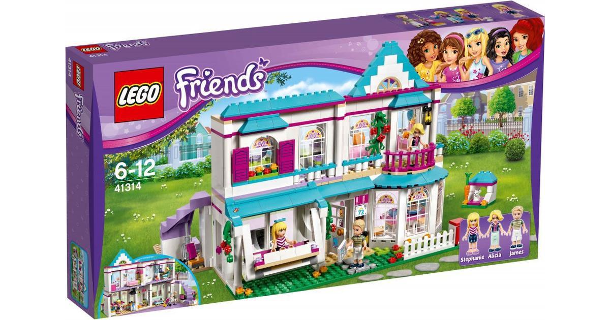Vellidte Lego Friends Stephanies Hus 41314 - Sammenlign priser hos PriceRunner FI-11