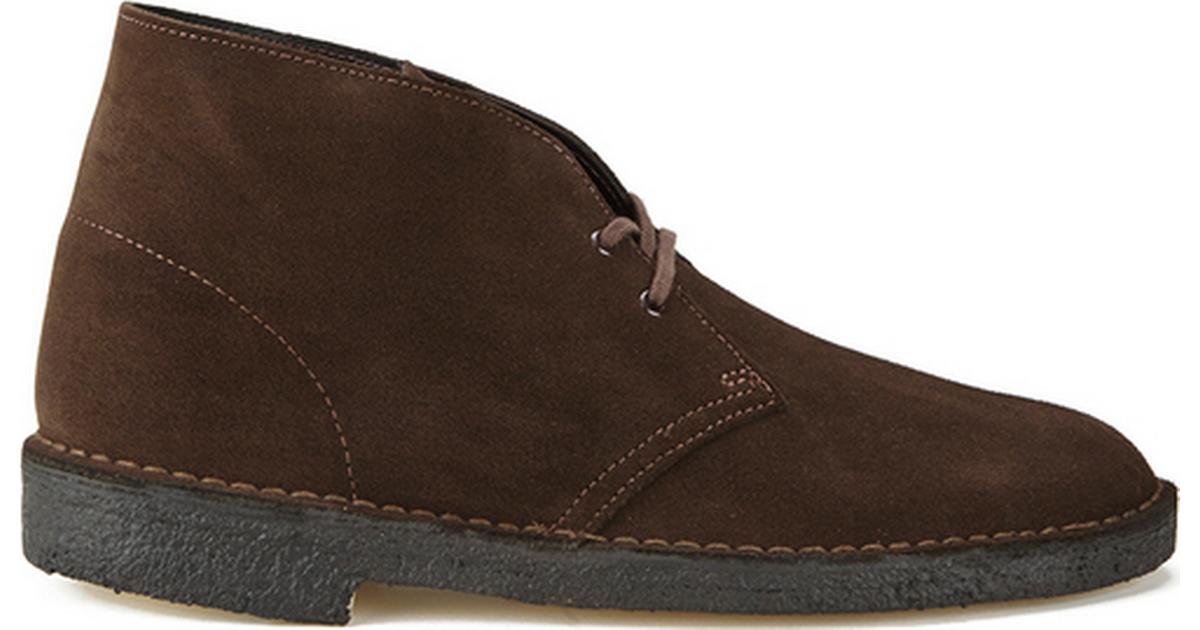 hvor kan jeg købe ledig New York Clarks Originals Desert Boots Brown Suede - Sammenlign priser & anmeldelser  på PriceRunner Danmark
