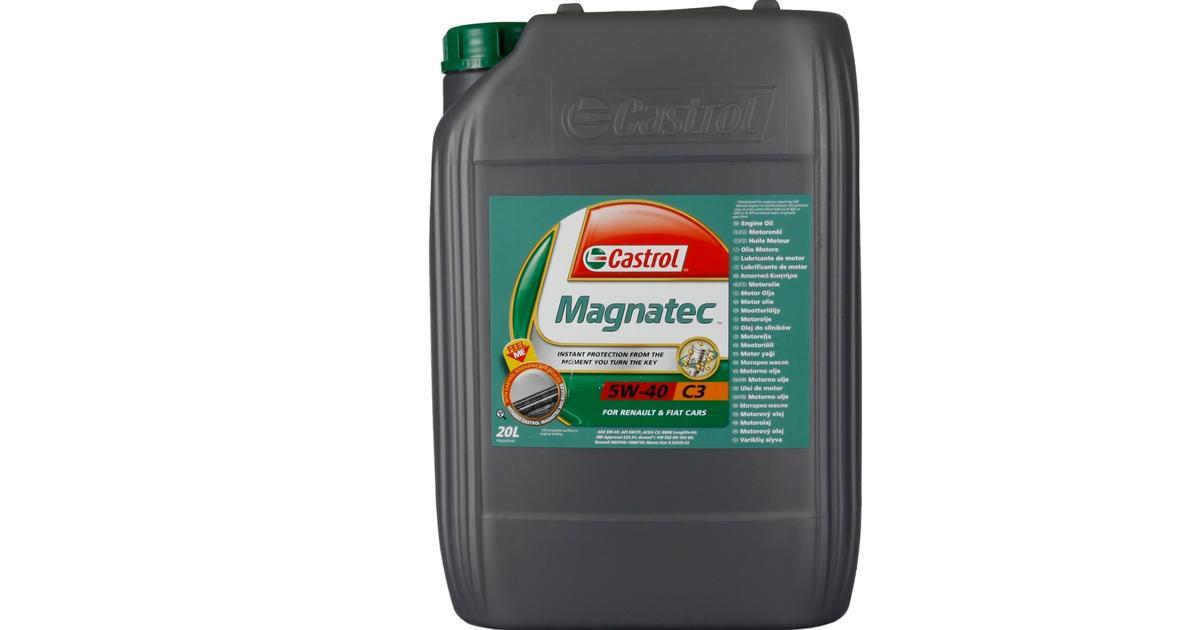 Fin Castrol Magnatec 5W-40 C3 20L Motorolie - Sammenlign priser hos SN-28