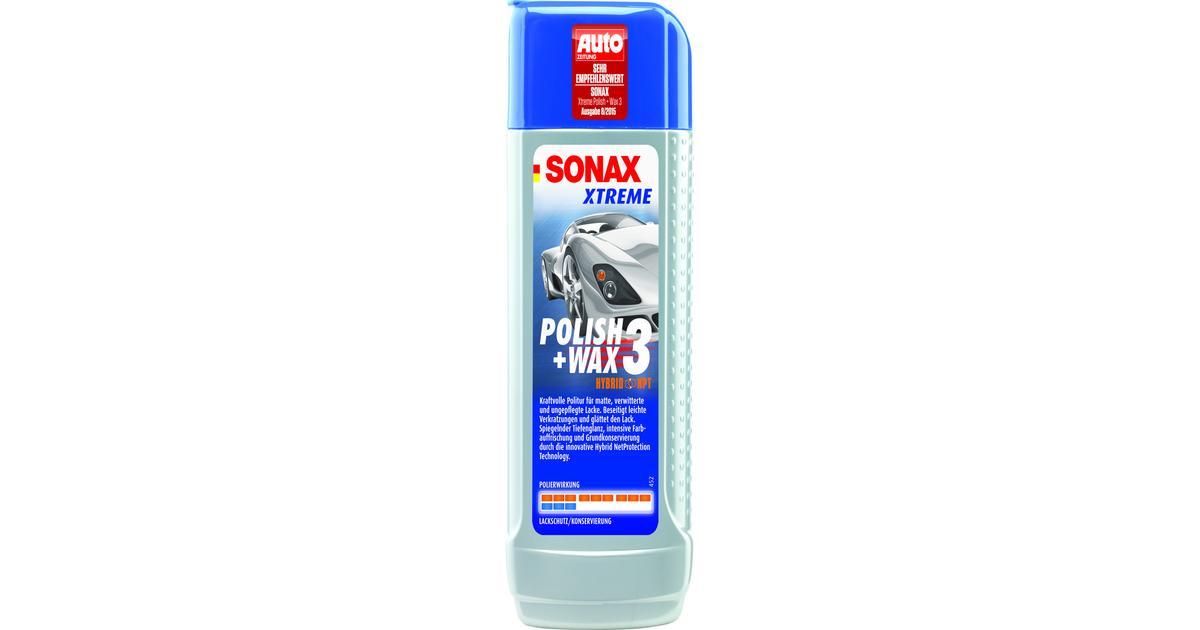 Efterstræbte Sonax Xtreme Polish & Wax 3 Hybrid NPT - Sammenlign priser hos FI-11