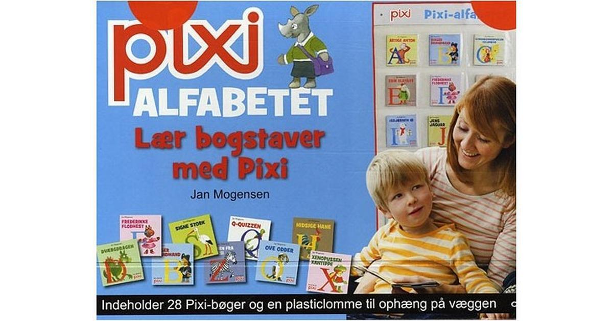 Tidssvarende Pixi alfabetet: lær bogstaver med pixi, Hæfte - Sammenlign priser QI-61