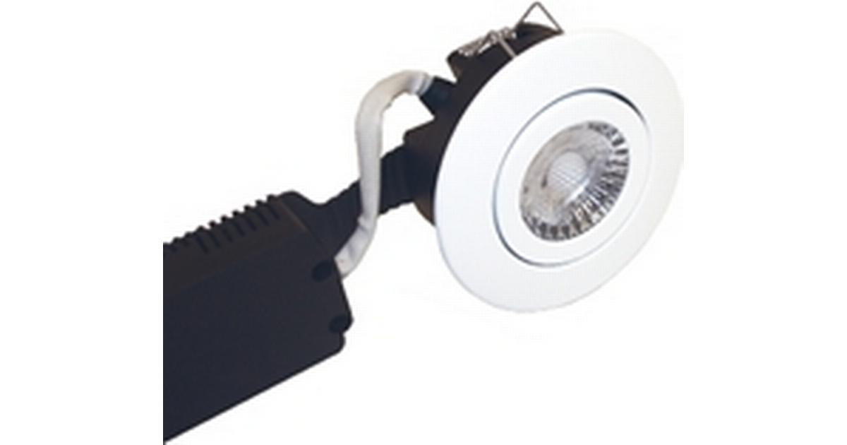 Nordtronic 1701 Low Profile 230 VAC Downlight Loftslys