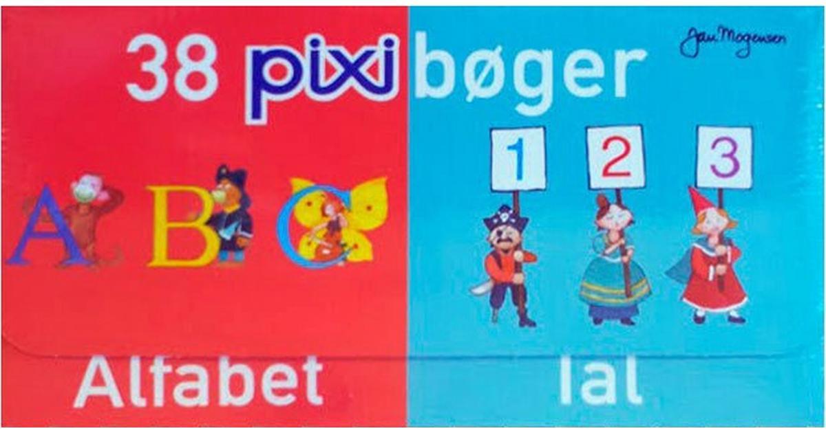 Afholte 38 pixibøger: alfabet, tal, Hæfte - Sammenlign priser hos PriceRunner JB-62