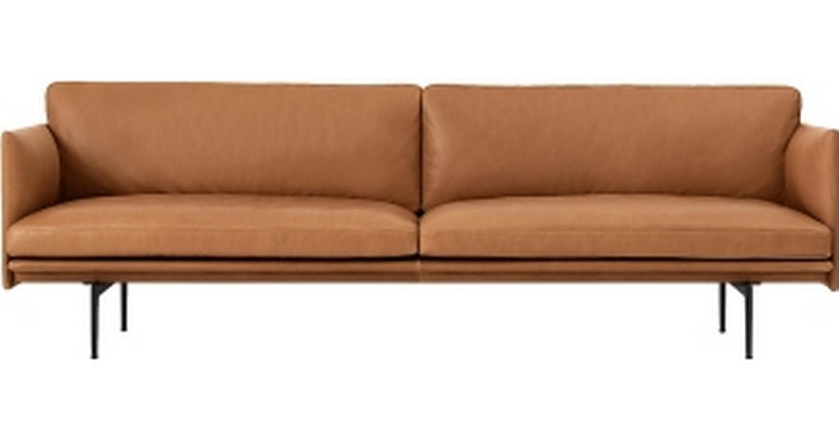 Picture of: Muuto Outline Leather Laedersofa 3 Pers Se Priser 6 Butikker