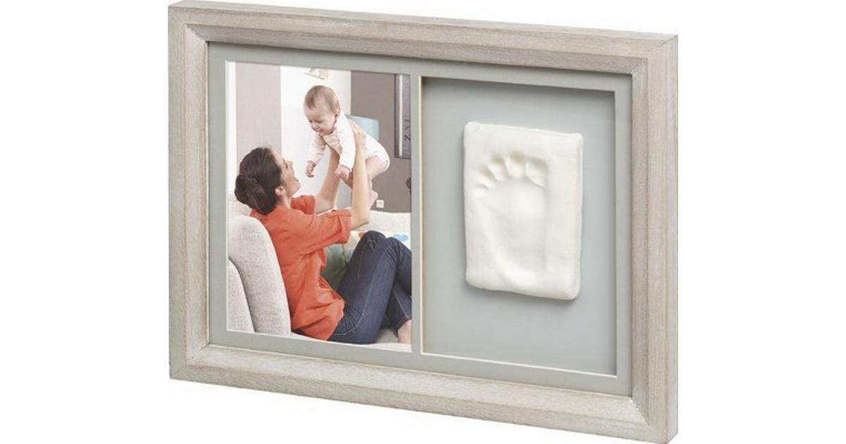 Baby Art Tiny Touch Wooden Wall Print Frame Sammenlign