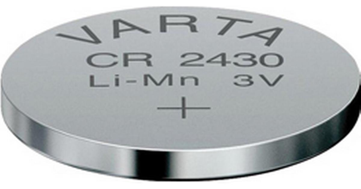 Icke gamla Varta CR2430 • Find den billigste pris (48 butikker) hos PriceRunner » HR-97