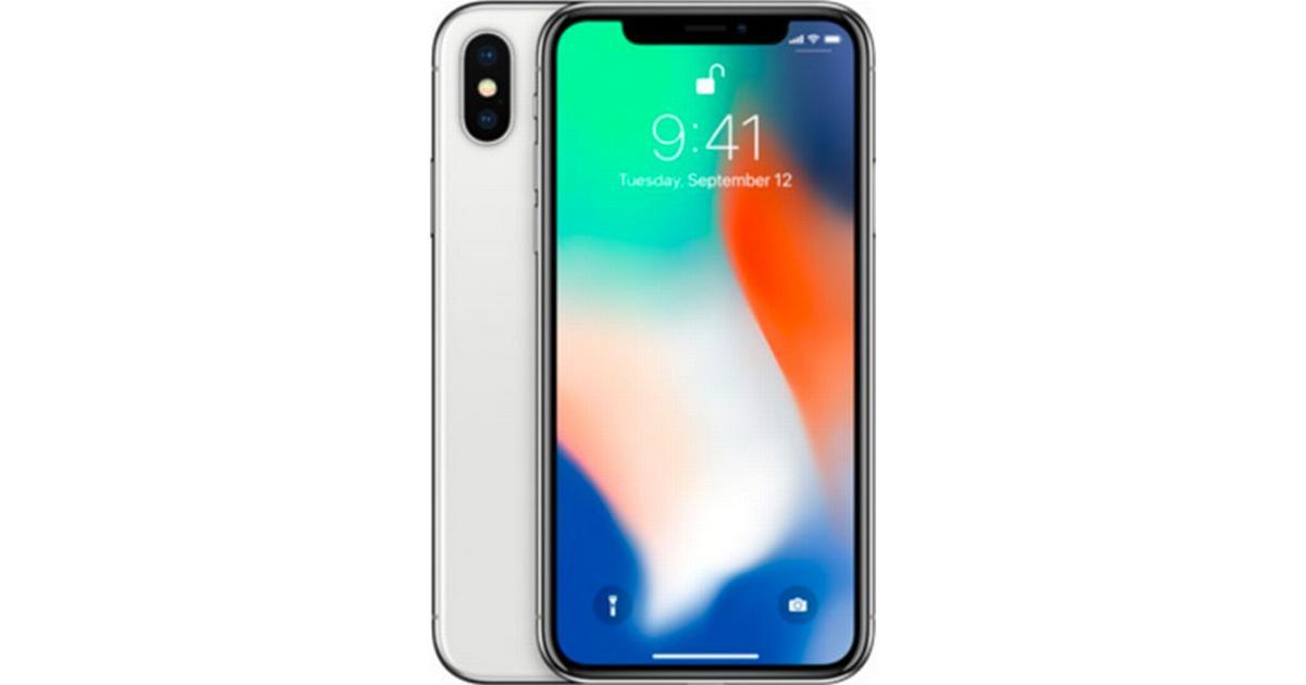 Populære Apple iPhone X 64GB • Se billigste pris (40 butikker) hos FB-46