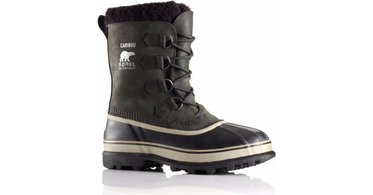 Herre Køb Sorel Caribou Black Sort Sko Online Boots