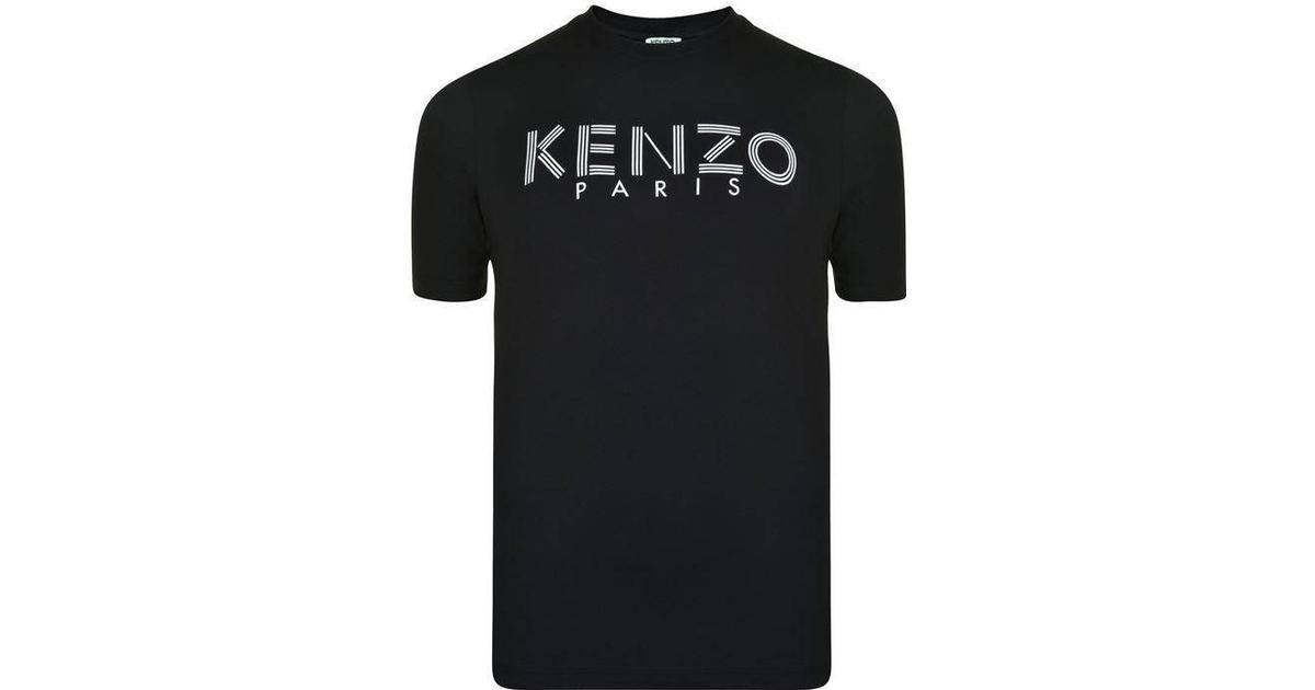 Black Paris logo t-shirt  Kenzo  T-shirts