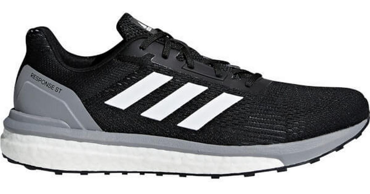 Adidas Response ST M BlackGreyWhite Sammenlign priser & anmeldelser på PriceRunner Danmark