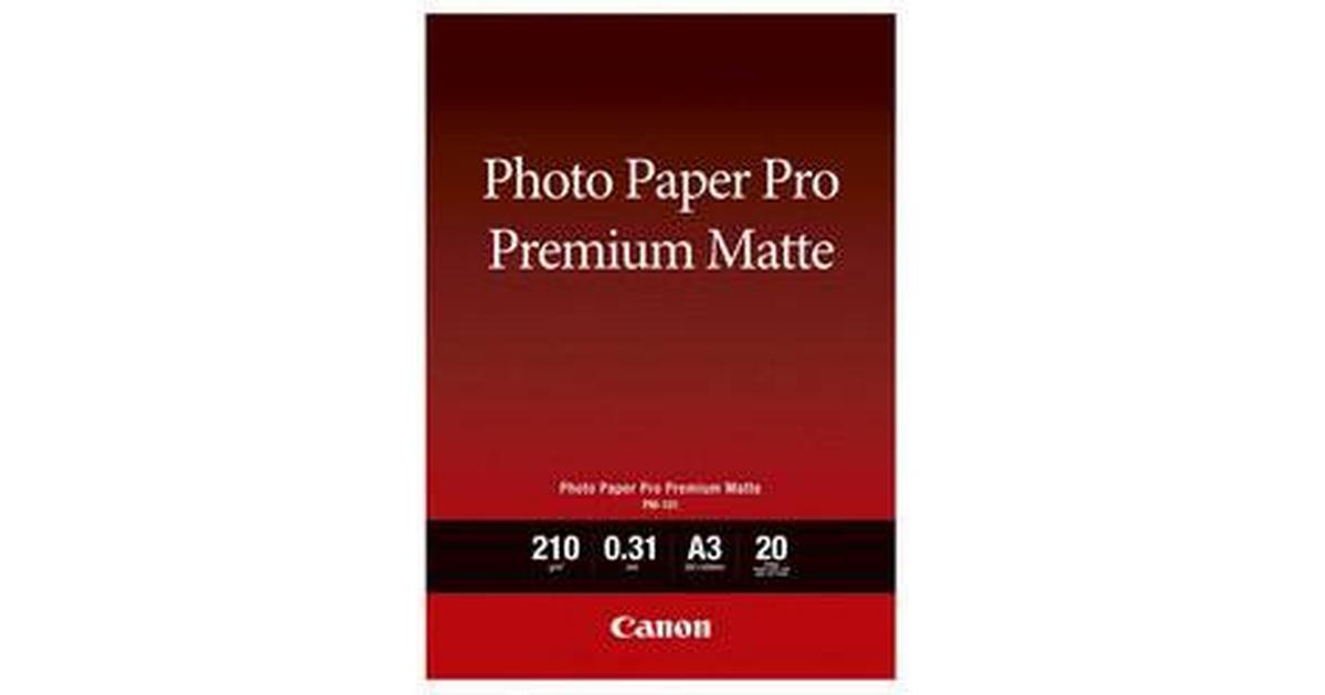 Canon PM 101 Pro Premium Matte 210g A3 20