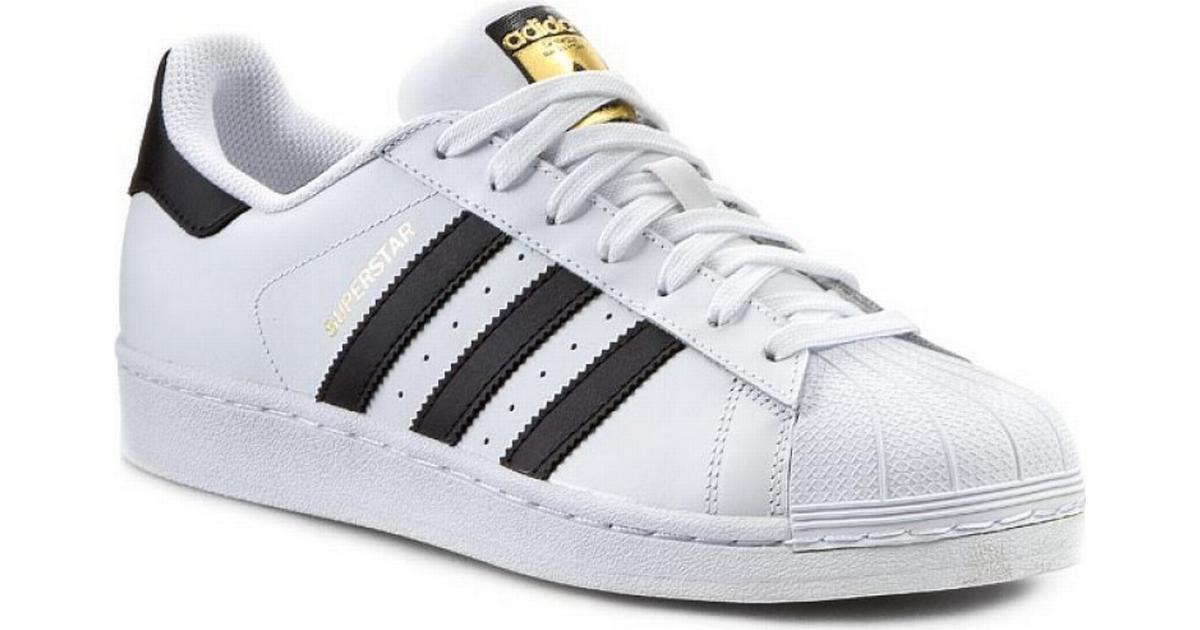 Adidas SUPERSTAR Herre Sneakers Hvid Sort AS5666 | Adidas