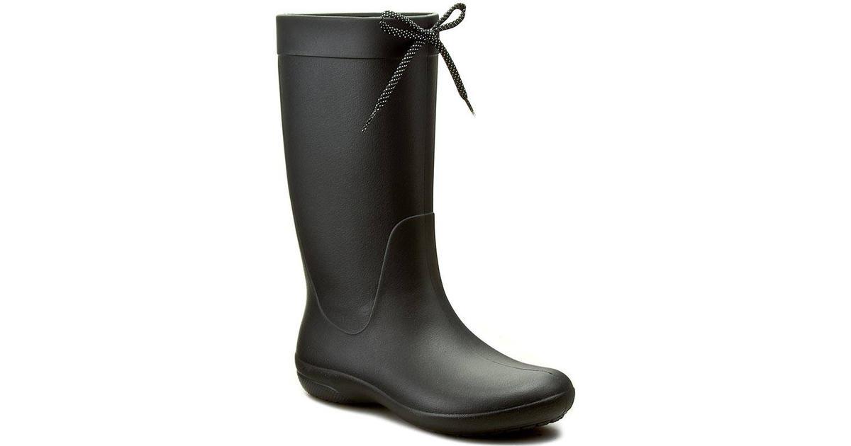 Freesail Rain Boot Black, Sko, Støvler Og Støvletter, Højskaftede Gummistøvler, Grå, Dame, 36