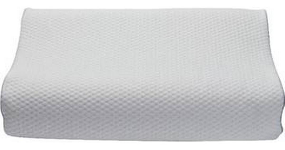 Dunlopillo Square Komplette pyntepuder Hvid (40x60cm) • Se
