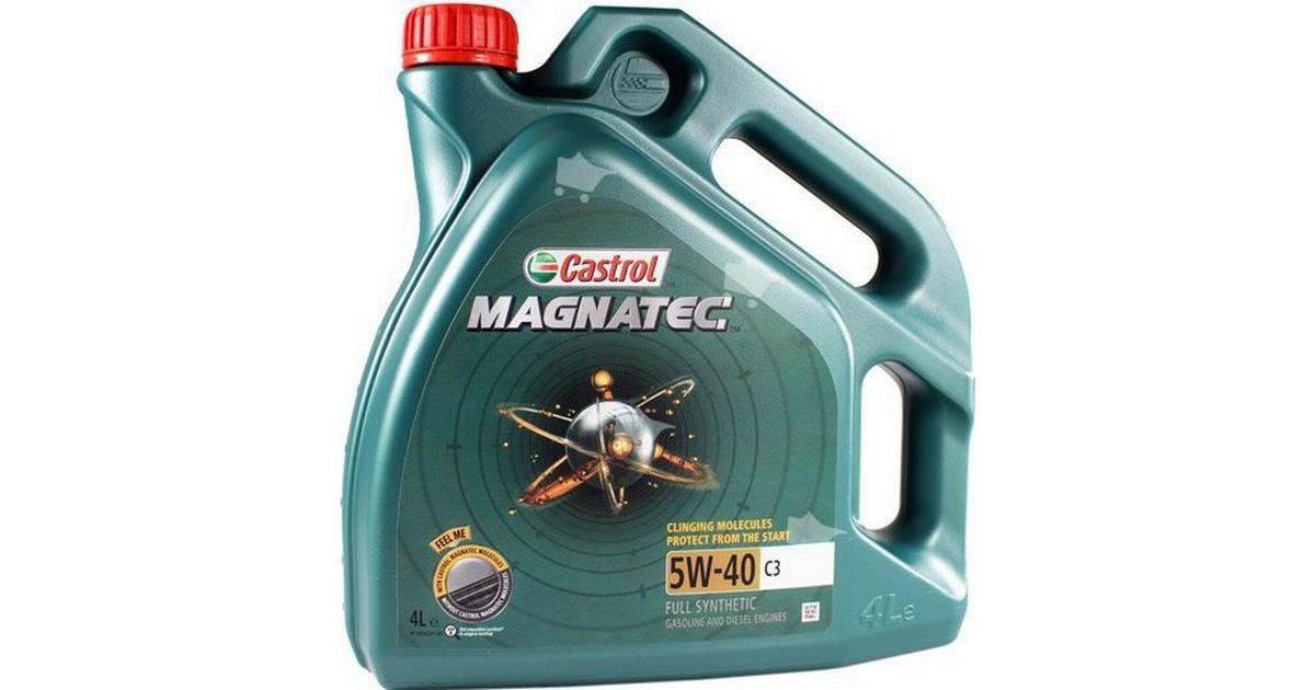 Splinternye Castrol Magnatec 5W-40 C3 4L Motorolie - Sammenlign priser hos CA-41