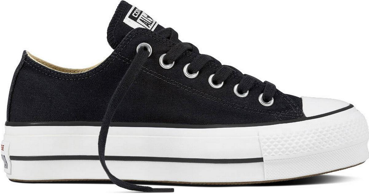 Online Black CONVERSE Chuck Taylor All Star Lo Top Canvas Shoes