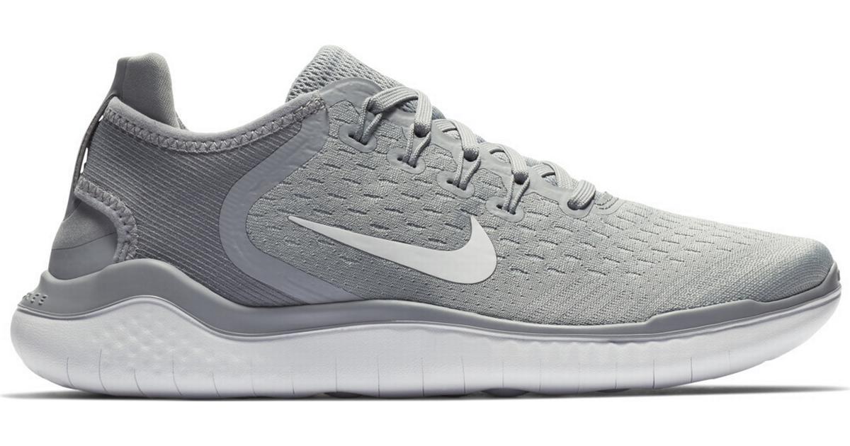 Nike Free RN 2018 W GreyWhite Sammenlign priser & anmeldelser på PriceRunner Danmark