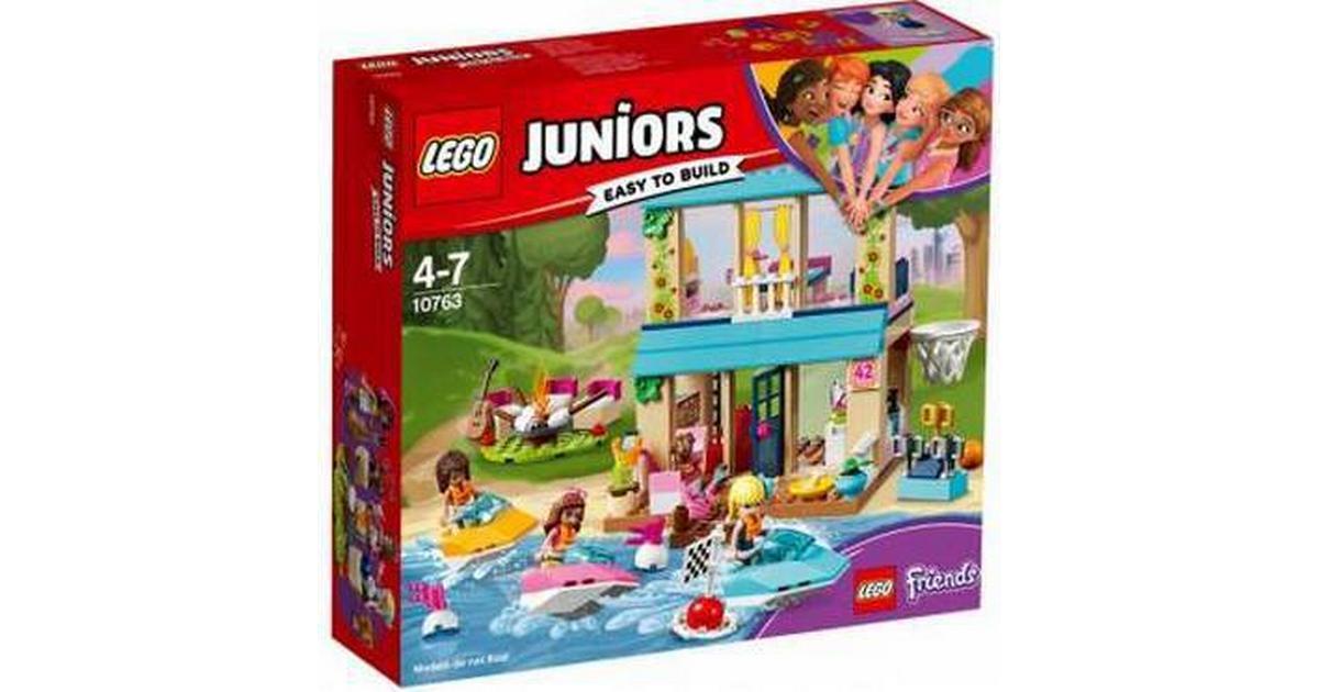 Dejlig Lego Juniors Stephanies Hus Ved Søen 10763 - Sammenlign priser hos LU-37