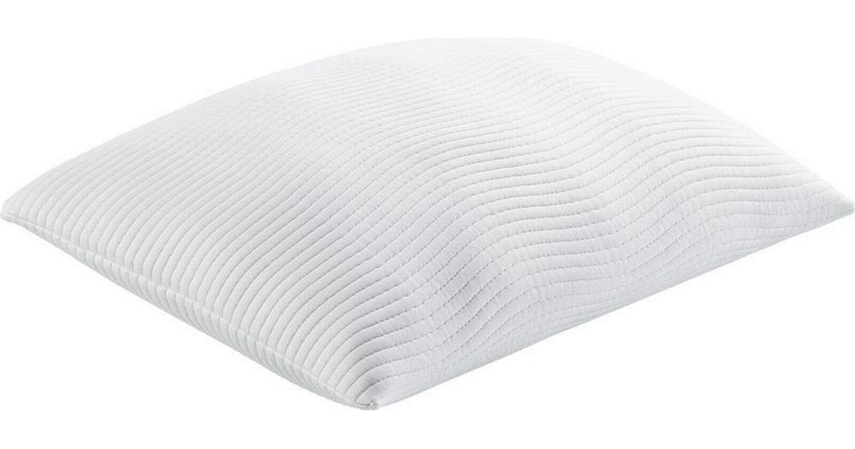 Dejlig Tempur Promise Comfort Ergonomisk pude Hvid (60x50cm) - Sammenlign WL-37